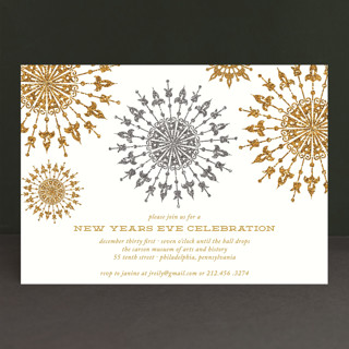 Revelry Holiday Party Invitations