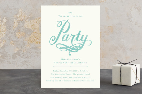 The Party Holiday Party Invitations