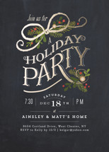 Nightfall Holiday Party Invitations By Jennifer Wick