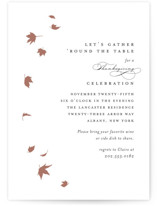 This is a black holiday party invitation by Kimberly FitzSimons called Pirouette with standard printing on signature in standard.