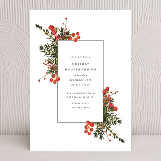 Verdurous Holiday Party Invitations
