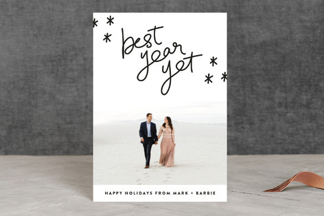 Best Year Yet Holiday Postcards