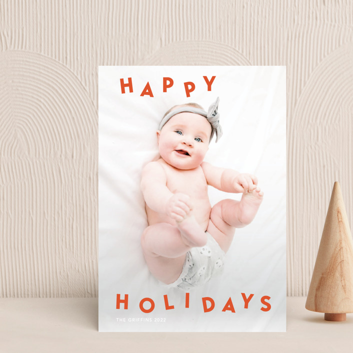 """""""Dancing holidays"""" - Holiday Postcards in Candy by Yaling Hou Suzuki."""