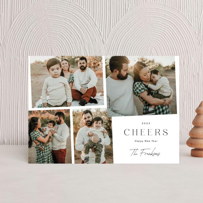 """Celebrations"" - Holiday Postcards in Snow by Yaling Hou Suzuki."