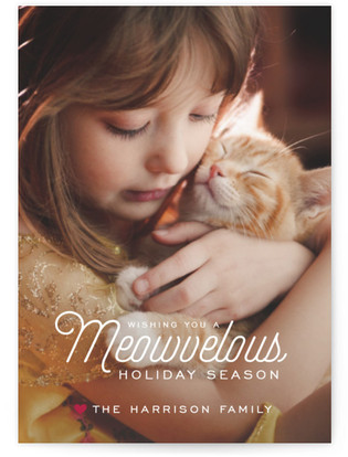 Meowvelous Holiday Holiday Postcards