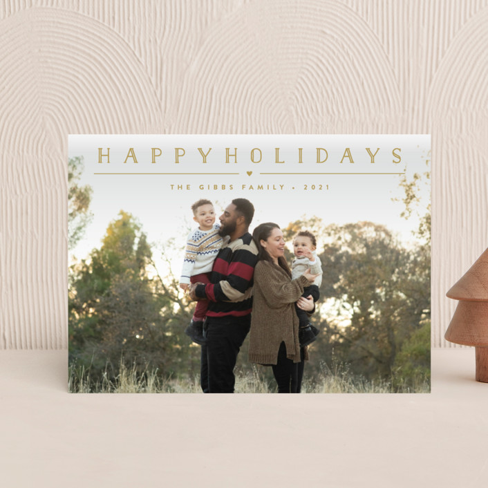 """""""Height of Happiness"""" - Holiday Postcards in Golden by Carolyn MacLaren."""