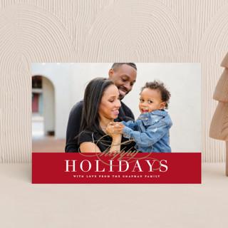Simple Elegance Holiday Postcards