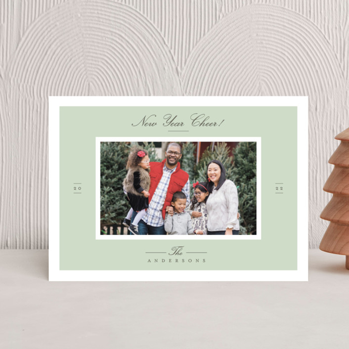 """""""Effortless Charm"""" - Holiday Postcards in Mist by Tatiana Nogueiras."""