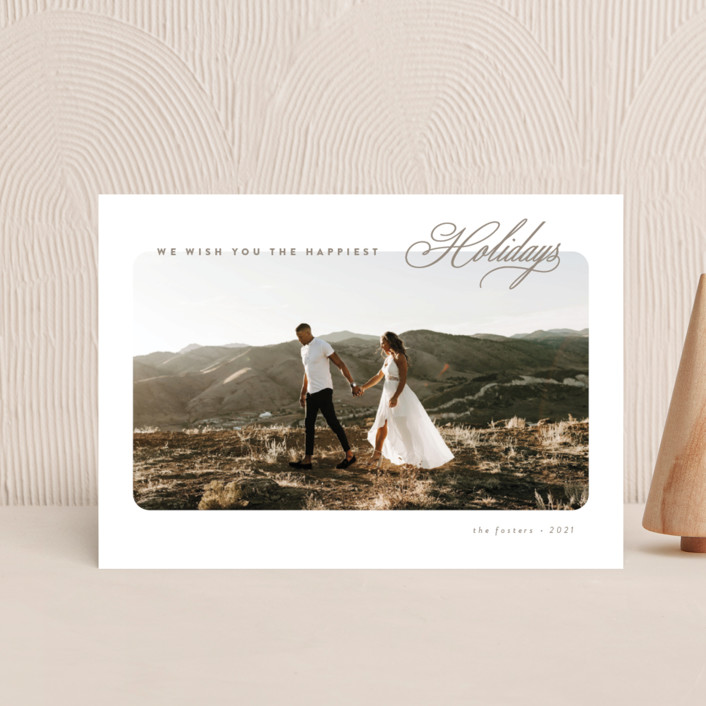"""""""O Come"""" - Holiday Postcards in Champagne by Brianne Larsen."""