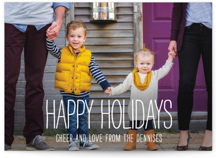 Happiest Homestyle Holiday Postcards
