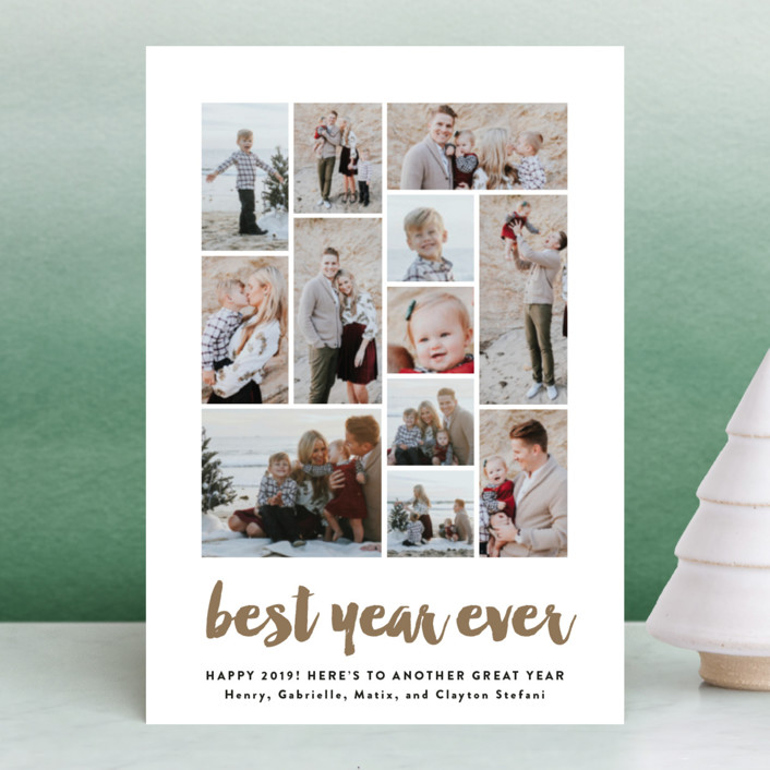 """Best of the Best"" - Holiday Postcards in Snow by Olivia Raufman."