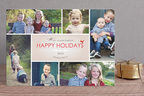 Bowtie Holiday Postcards