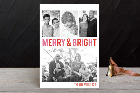 Merry & Bright Holiday Postcards