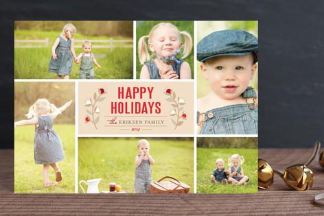Christmas Blossoms Holiday Postcards