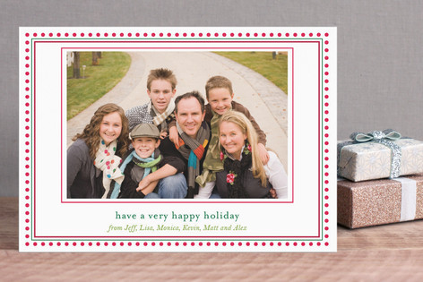 Happy Dot Holiday Postcards
