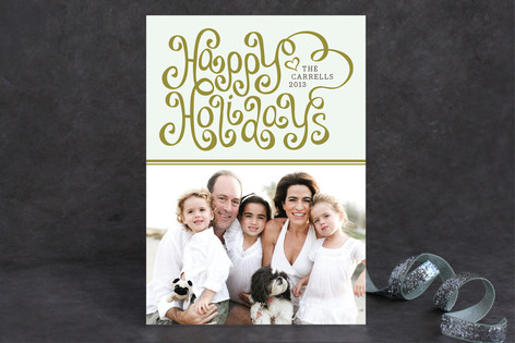 Merry Ribbon Holiday Postcards