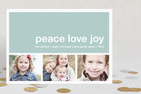 Modern Joy Holiday Postcards