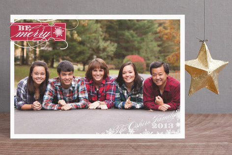 Be Merry Holiday Postcards