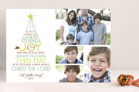 Good Tidings of Joy Holiday Postcards