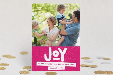 Standout Joy Holiday Postcards