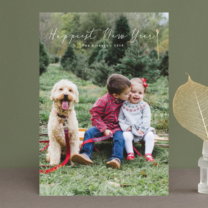 """""""Noted"""" - Holiday Postcards in Vanilla by Carolyn MacLaren."""