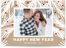Rustic Pine Holiday Postcards
