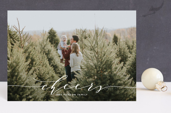 """""""a touch of elegance"""" - Holiday Postcards in Marshmallow by Erin Deegan."""