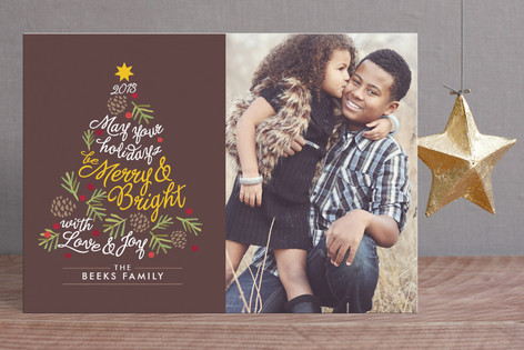 Be Merry and Bright Holiday Postcards