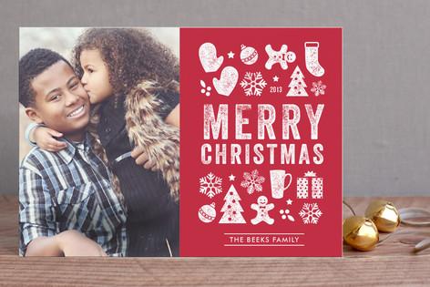 Christmas Dingbats Holiday Postcards