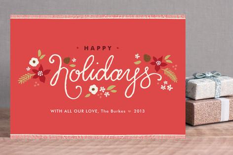 Ribbon Noel Holiday Postcards
