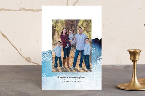 Brushed Batik Holiday Postcards