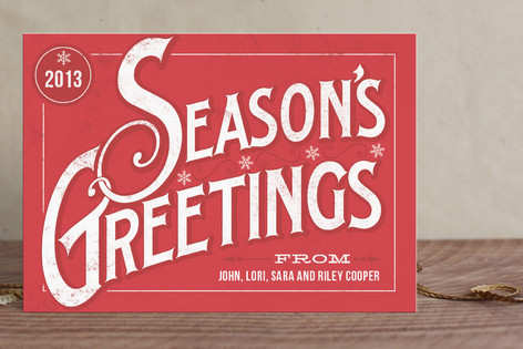 Classic Greetings Holiday Postcards