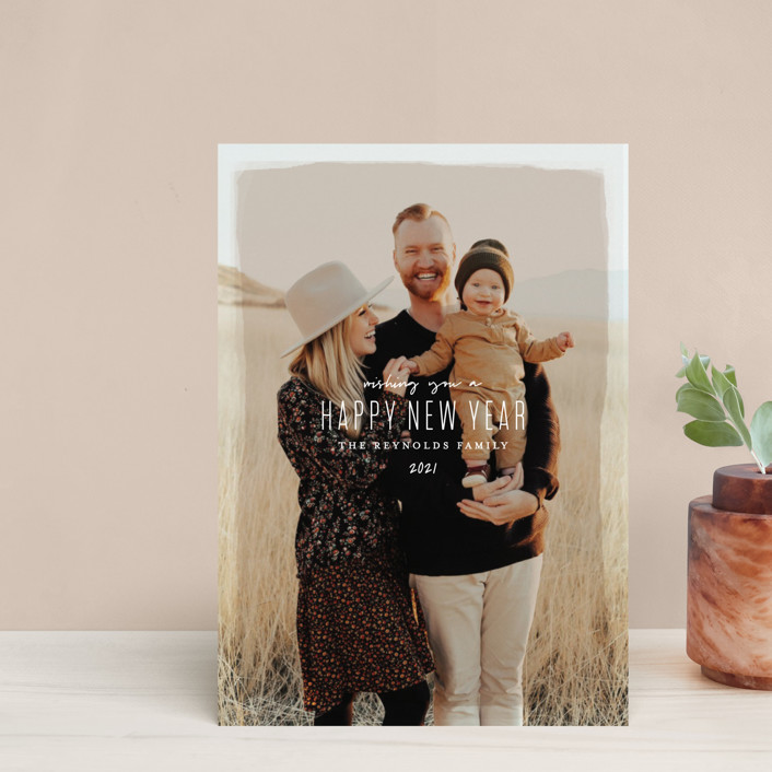 """Heirloom Holiday"" - Holiday Postcards in Desert by Melissa Egan of Pistols."