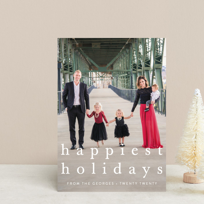 """""""simple christmas"""" - Holiday Postcards in Wreath by Julia Hall."""