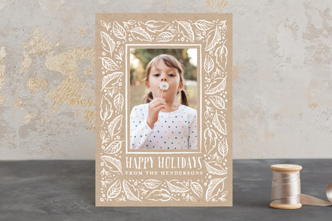 Illuminated Holiday Postcards