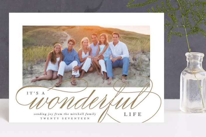 """""""So Wonderful"""" - Holiday Postcards in Antique by Lauren Chism."""