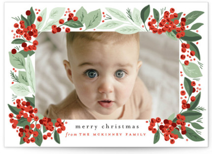 Berry Bunches Holiday Postcards