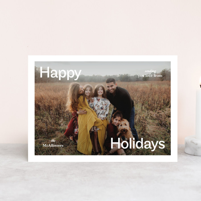 """""""Ad"""" - Holiday Postcards in Frost by Jack Knoebber."""