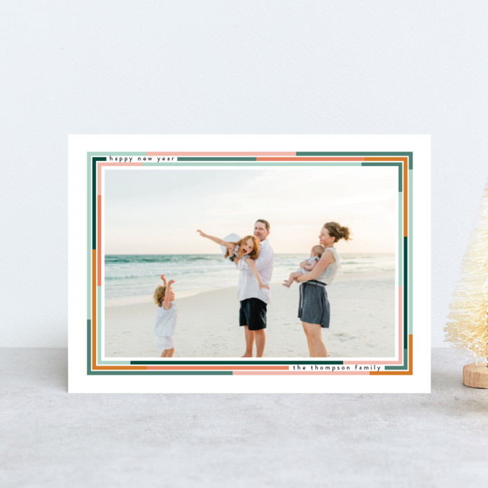 """""""Lined"""" - Holiday Postcards in Desert by Ashlee Townsend."""