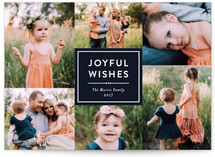 Joyful Wishes Collage by Katherine Moynagh
