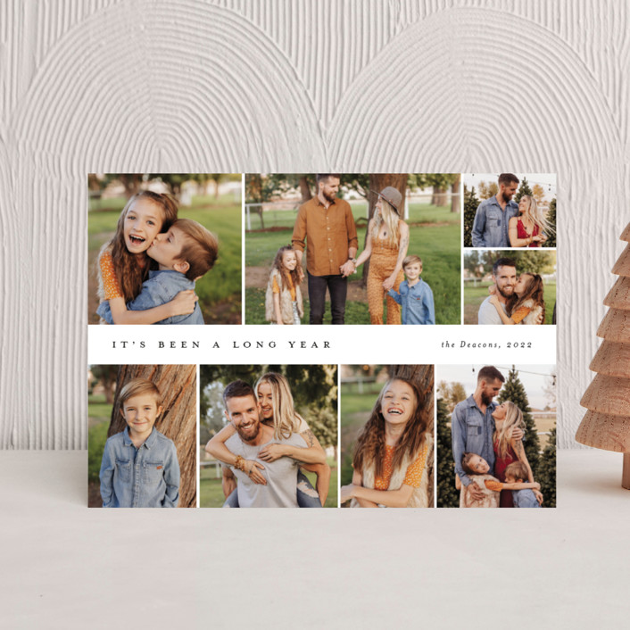 """Many memories"" - Holiday Postcards in Cotton by Stacey Meacham."