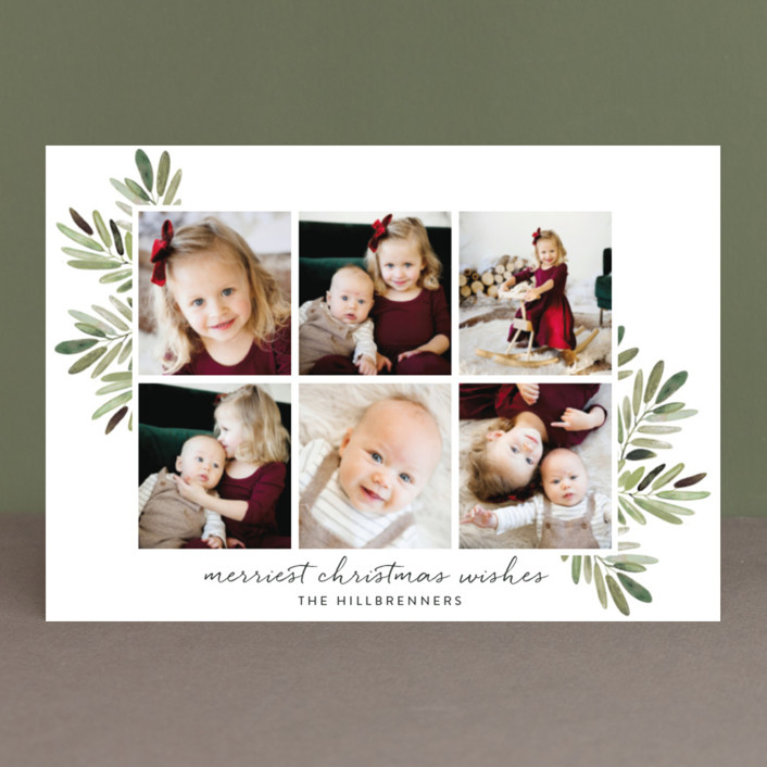 """Al Fresco"" - Holiday Postcards in Snow by Haley Warner."