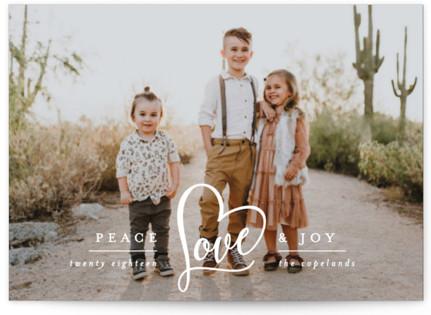 Peace Heart & Joy Holiday Postcards