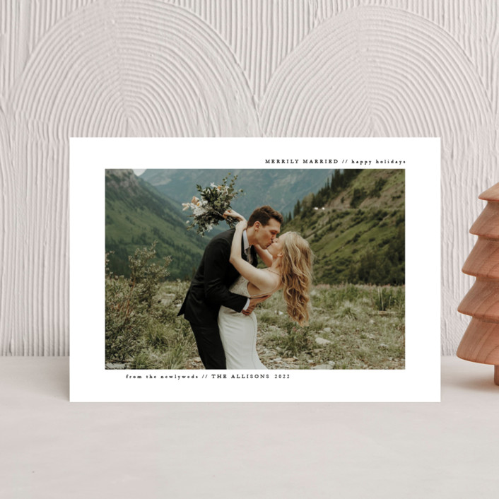 """""""plain and clean"""" - Holiday Postcards in Snow by Roxanne Fay."""