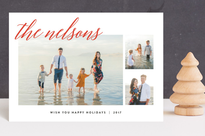 """Comfy Cozy"" - Holiday Postcards in Berry by carly reed walker."