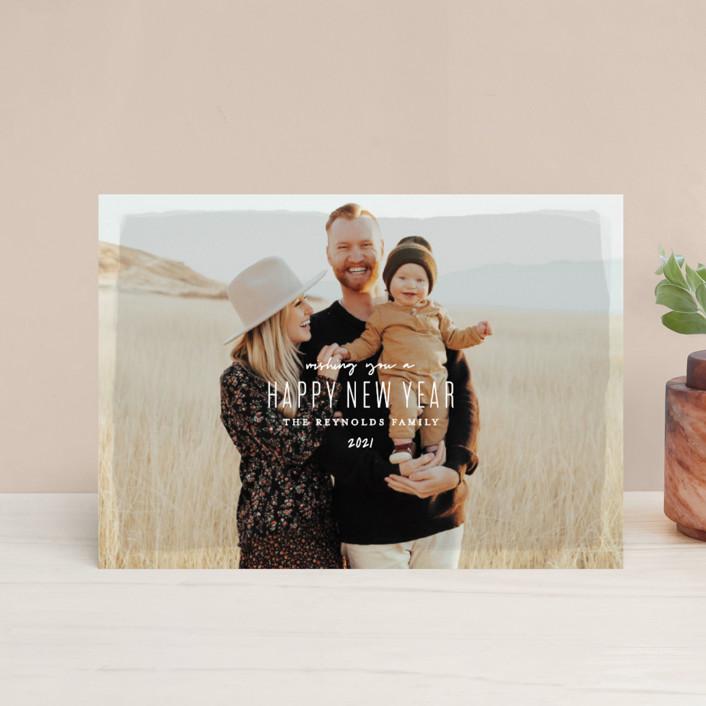 """Heirloom Holiday"" - Holiday Postcards in Desert by Melissa Egan of Pistols."