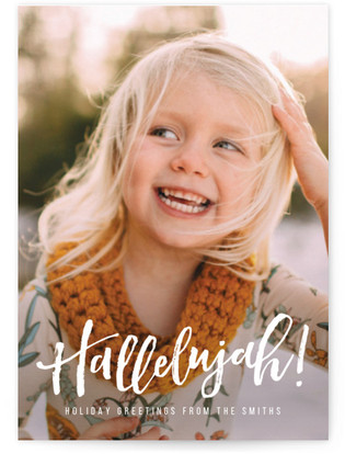 Hallelujah for the Holidays Holiday Postcards