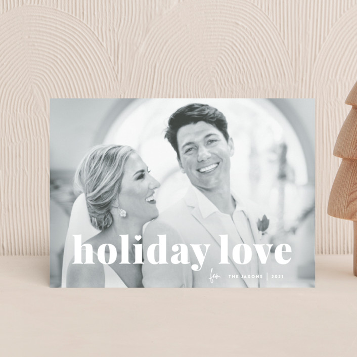 """vintage holiday love"" - Holiday Postcards in Snow by Sara Hicks Malone."