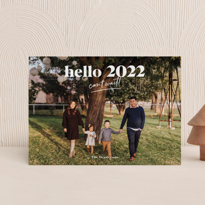 """""""can't wait 2021"""" - Holiday Postcards in Snow by Aspacia Kusulas."""