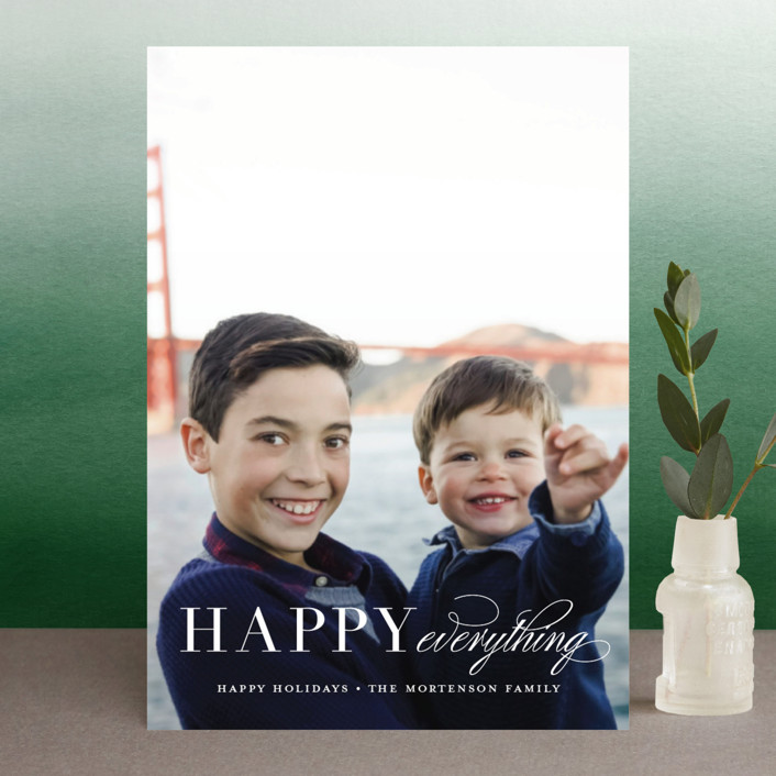 """Graceful Peace"" - Holiday Postcards in Snowflake by Jessica Williams."